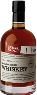 Cedar Ridge Bourbon 750ml